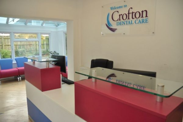 Crofton Dental Care - Reception